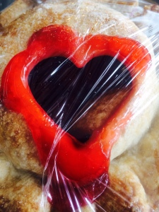 CHERRY HEART PIE